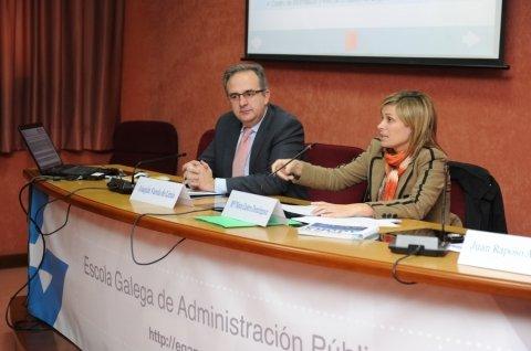Apertura do seminario - Seminario Desafíos de la Gestión Pública Democrática y las Políticas Públicas en Brasil y la CCAA de Galicia